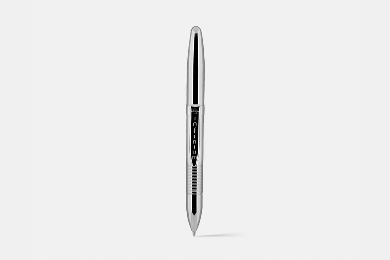 Fisher Chrome/TiNi Infinium Space Pen