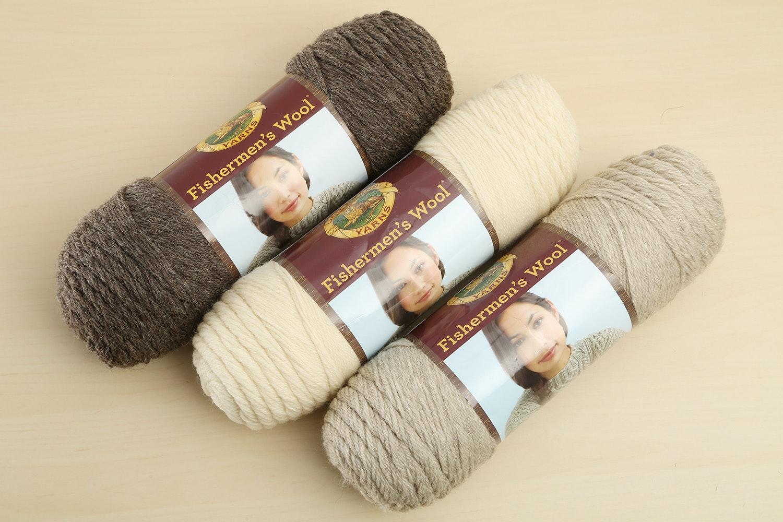 Fishermen's Wool Yarn - 3PK