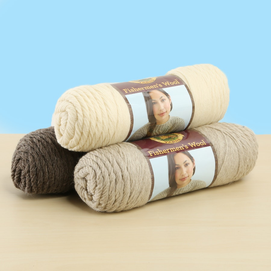 Fishermen's Wool Yarn - 3PK