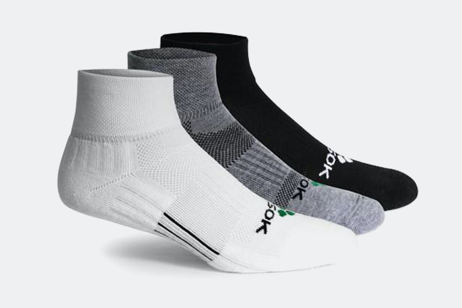 Fitsok CF2 Cushion Quarter Socks (3-Pack)