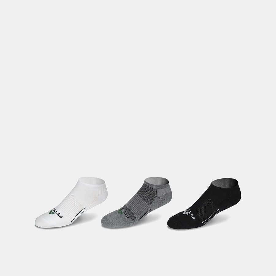 Fitsok CF2 No-Show Socks (3-Pack)