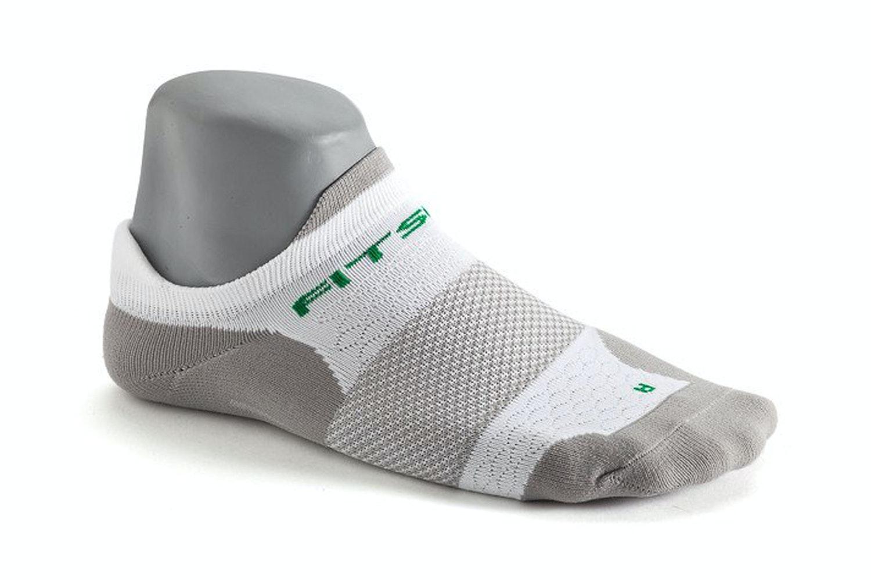 Single-color 3-pack: Tech Sock White/Gun