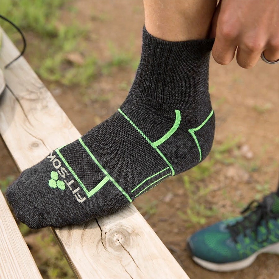 Fitsok ISW Isolwool Hiking/Running Socks (3-Pack)