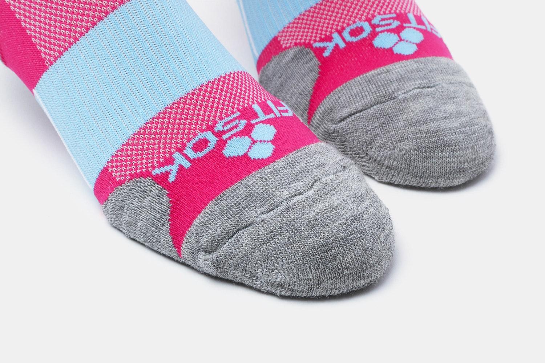 Fitsok CF2 Wool Crew Socks (2-Pack)