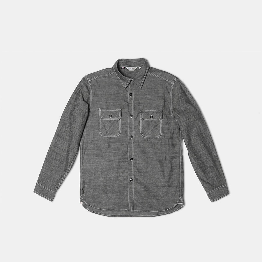 Five Brother Heavy Chambray Work Shirt