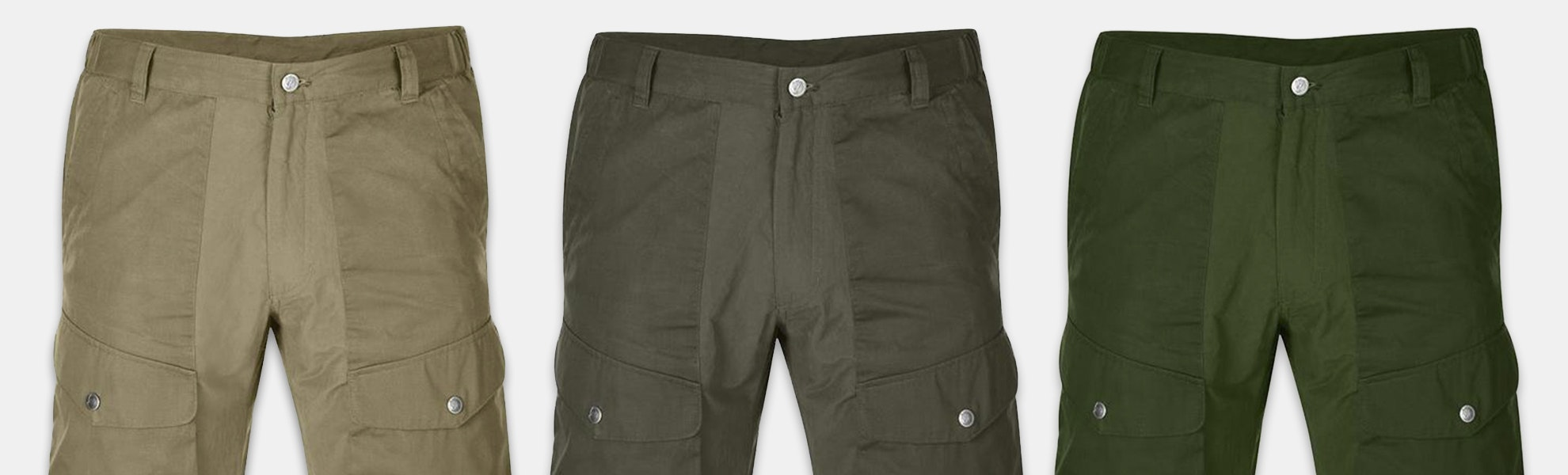 Fjallraven Men's Abisko Hybrid & Abisko Shorts