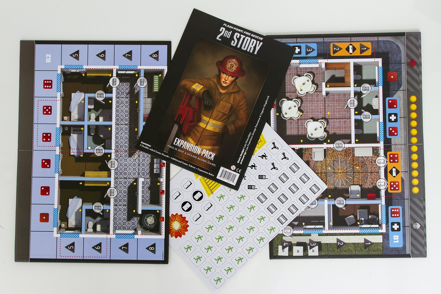 Flash Point Board Game Bundle
