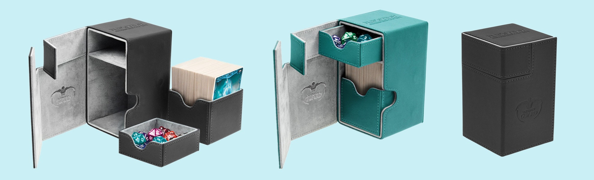 UG XenoSkin Flip´n´Tray Standard Deck Case (2-Pack)