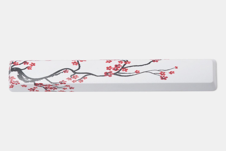 White & Plum Blossom