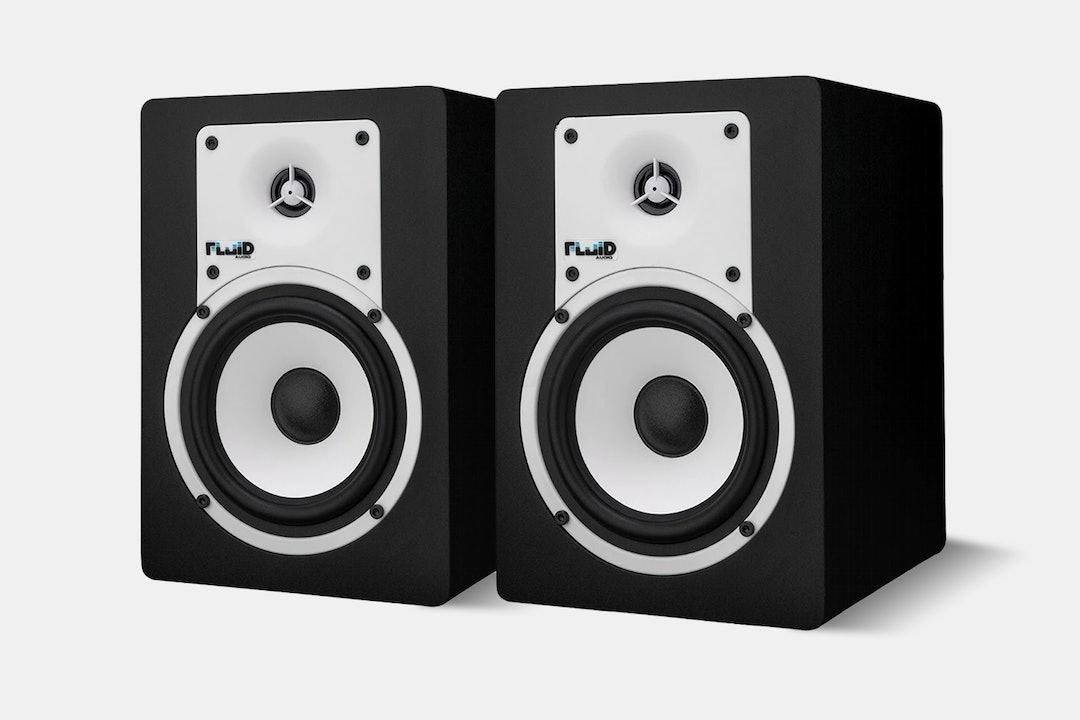 Fluid C5BT 5-Inch Bluetooth Studio Monitors