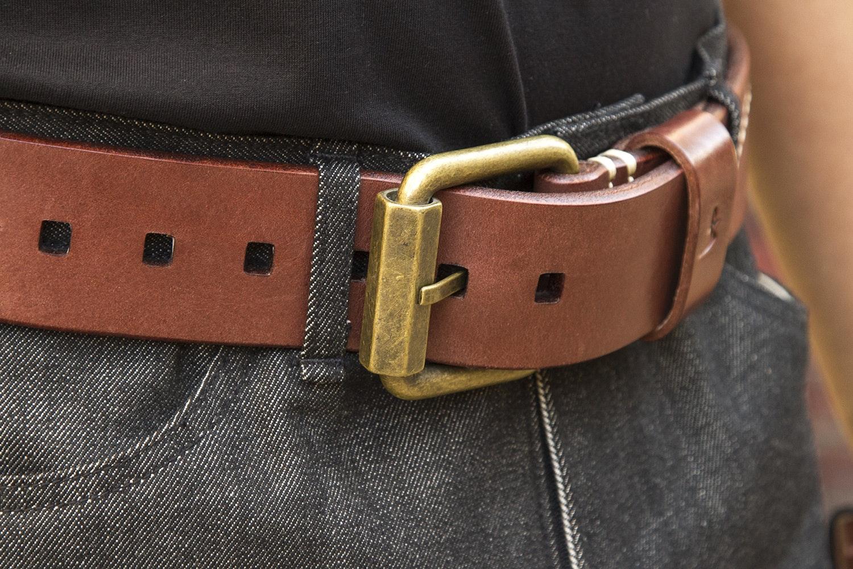 Flying Zachinnis Leather Belt