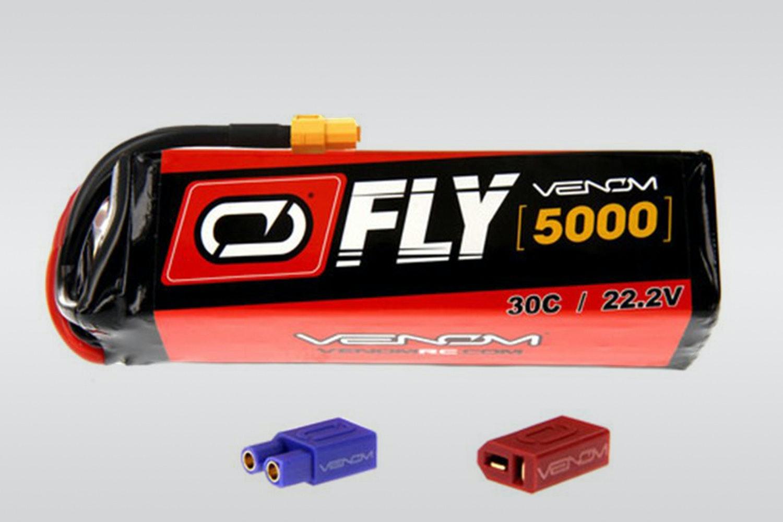 Venom 6S 22.2V 35C 5000mAh LiPo battery (+ $105)