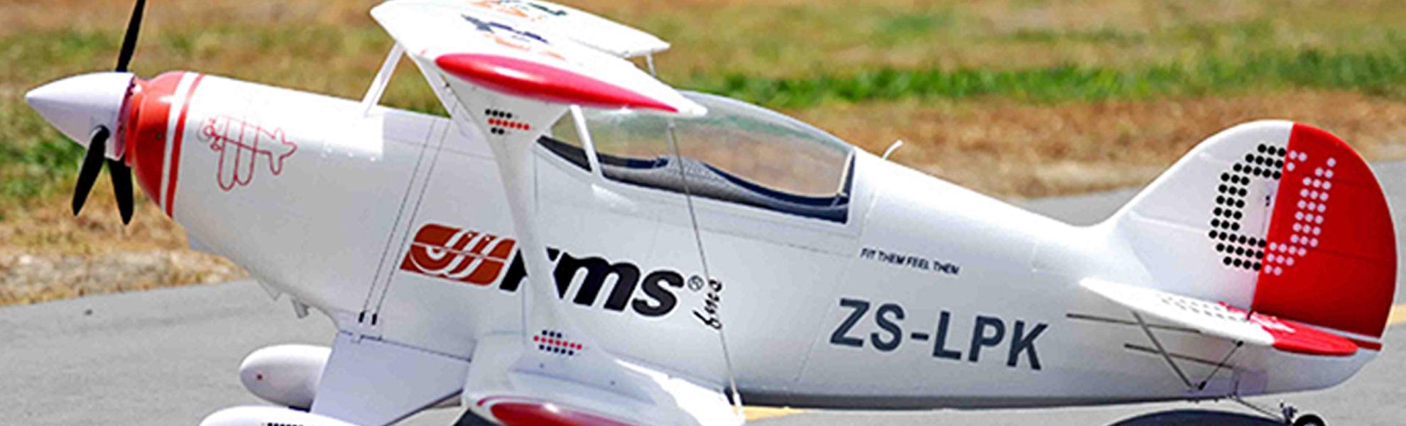 FMS Pitts P2B Biplane 1400mm PNP
