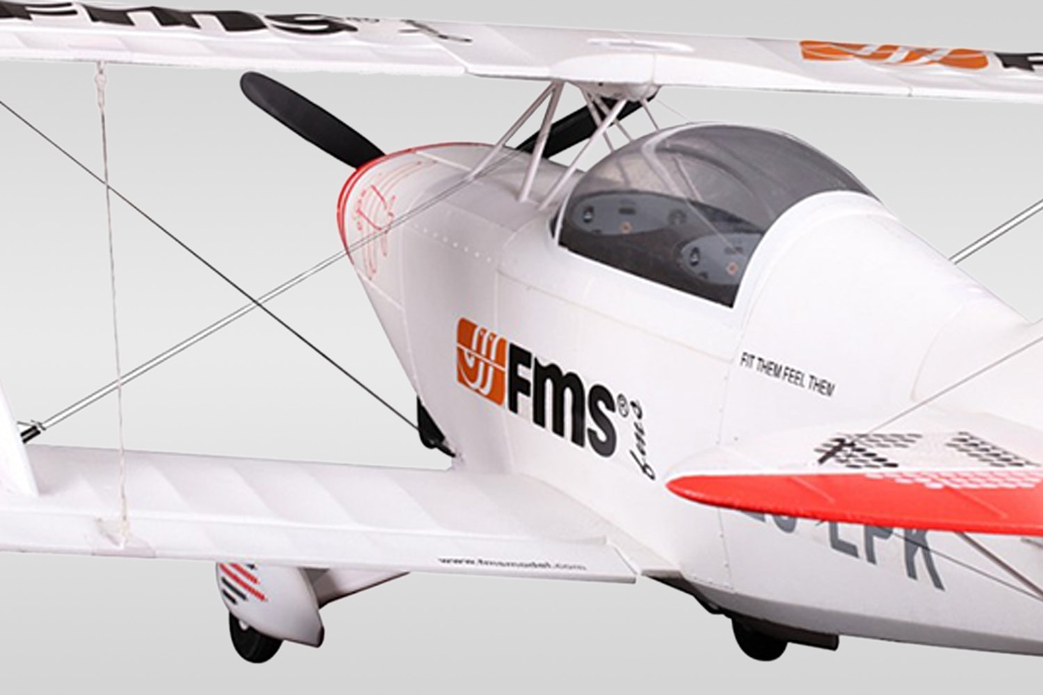 FMS Pitts P2B Biplane 1400mm PNP