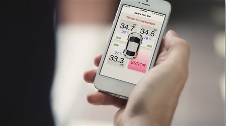FOBO Bluetooth Tire Pressure Monitoring System