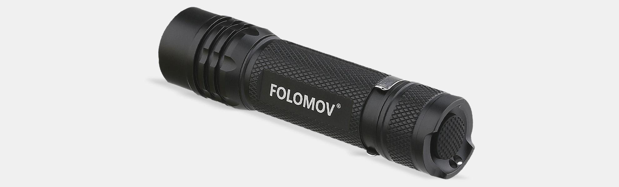 Folomov 18650S 900-Lumen Tactical Flashlight