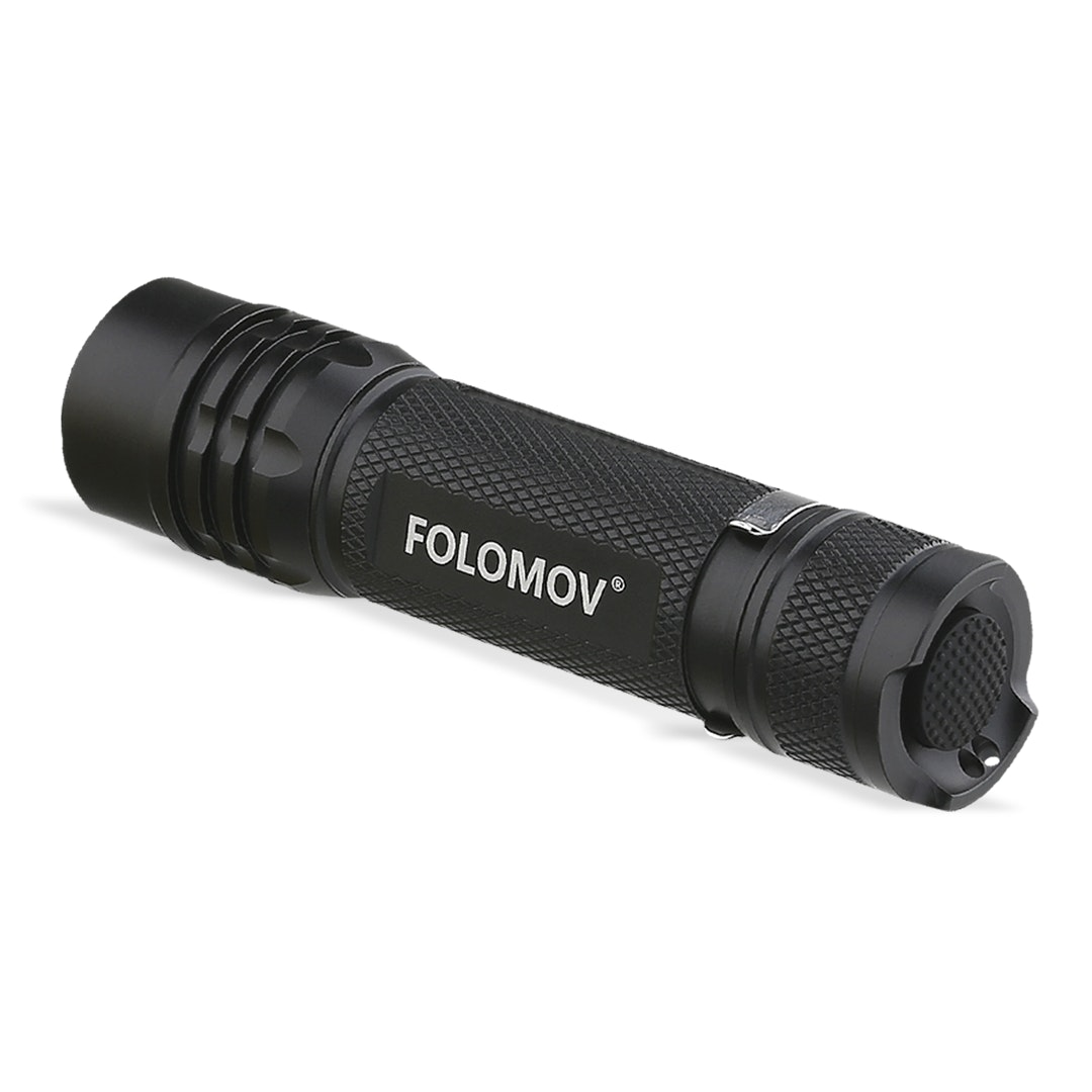 Folomov 18650S 900-Lumen Tactical Flashlight