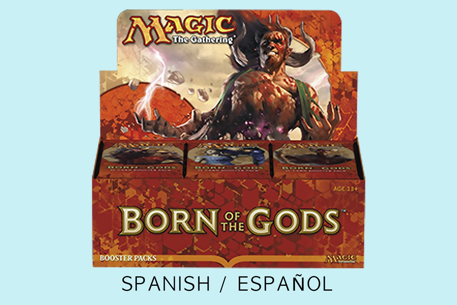 Born of the Gods: Spanish