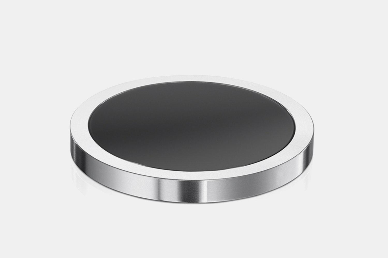 ForeverSpin Metallic Tops W/ Optional Spin Base