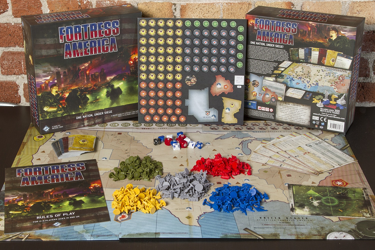 Fortress America Board Game
