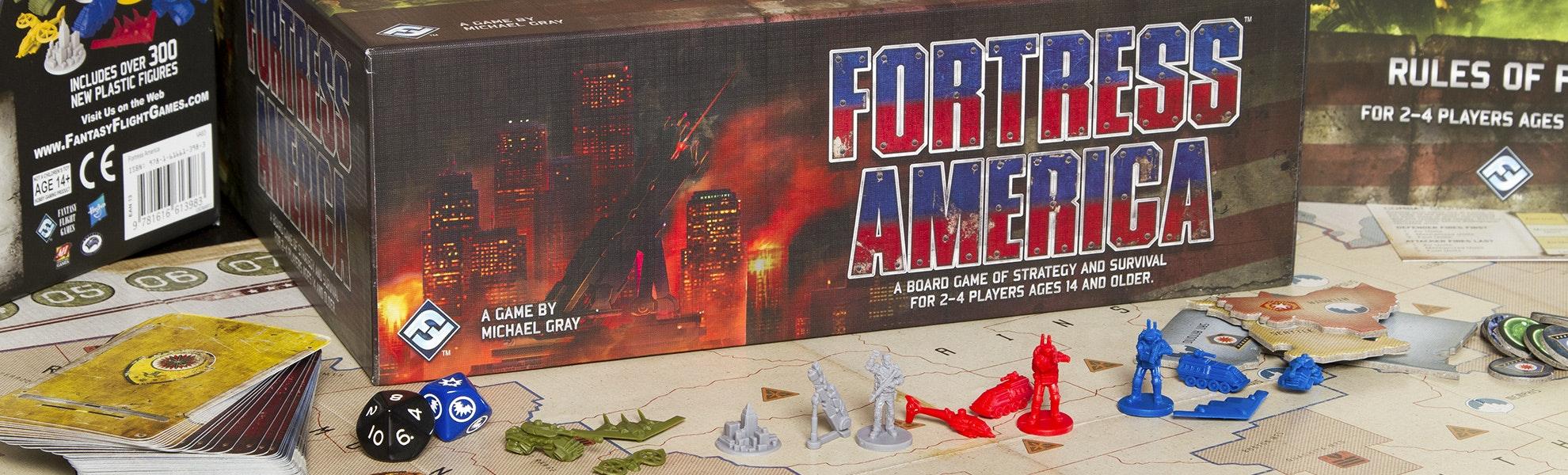 Fortress America Board Game