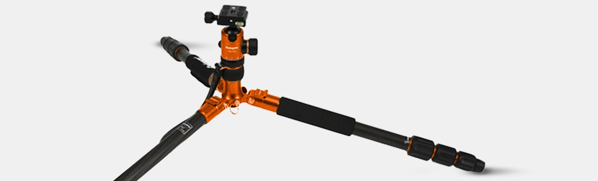 Fotopro C5c Carbon Fiber Tripod/Monopod & Head
