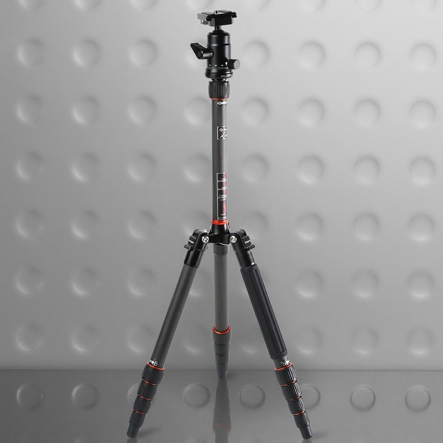 Fotopro X-4CN Carbon Fiber Tripod/Monopod  w/ Head