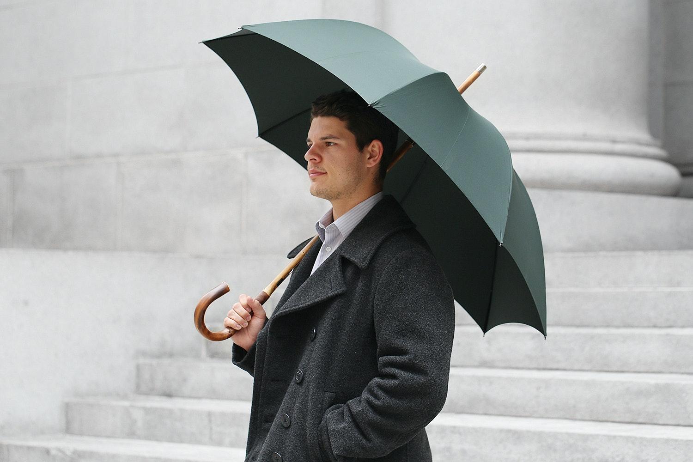 Fox Umbrellas Solid Stick Umbrella