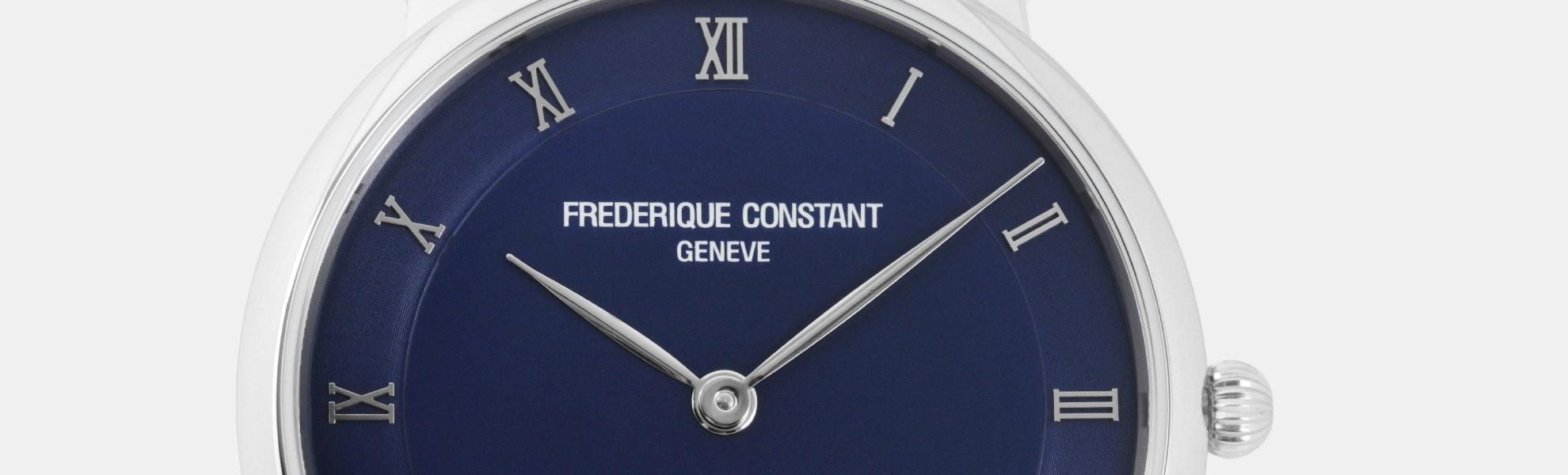 Frédérique Constant Slim Line Quartz Watch