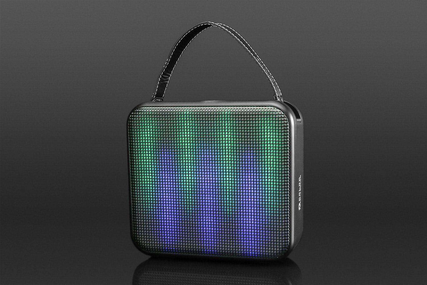 FRESHeCOLOR Portable Bluetooth Speaker w/ LEDs