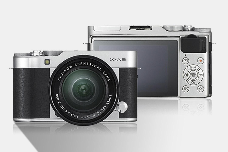 Fujifilm X-A3 Mirrorless Camera w/ 16–50mm Lens