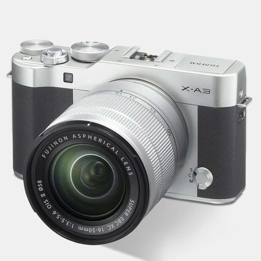 Fujifilm X-A3 Mirrorless Camera w/ 16–50mm Lens