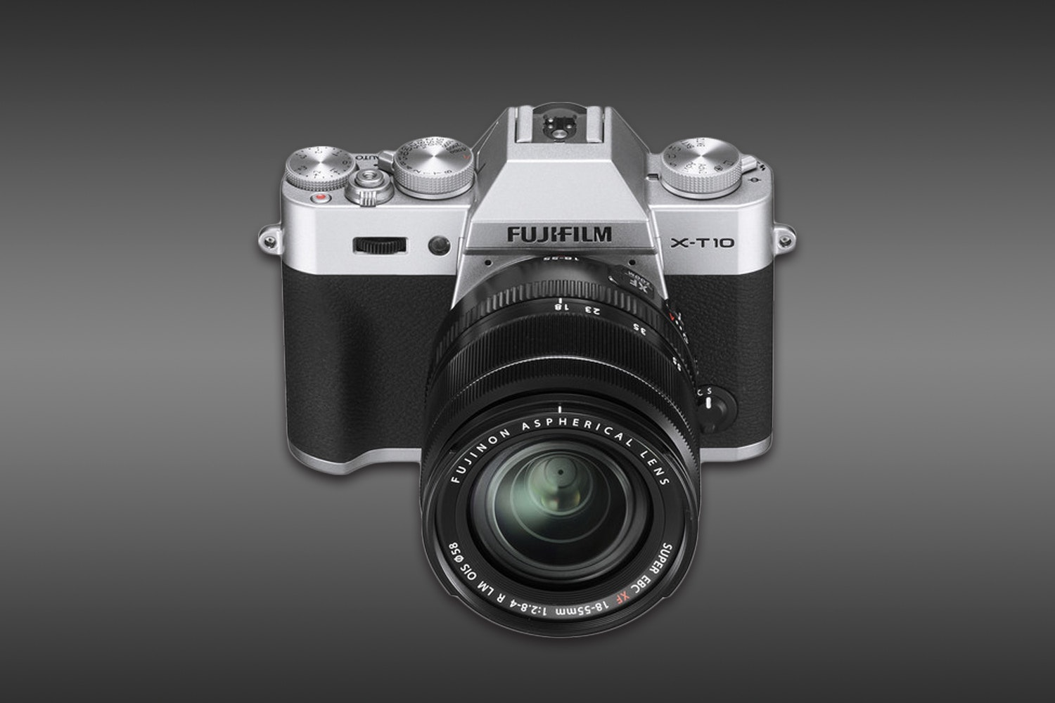 Fujifilm X-T10 Mirrorless Body with 18-55mm Lens