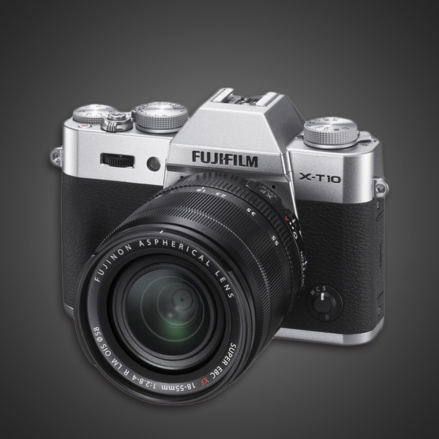 Fujifilm X-T10 Mirrorless Camera (Refurbished)