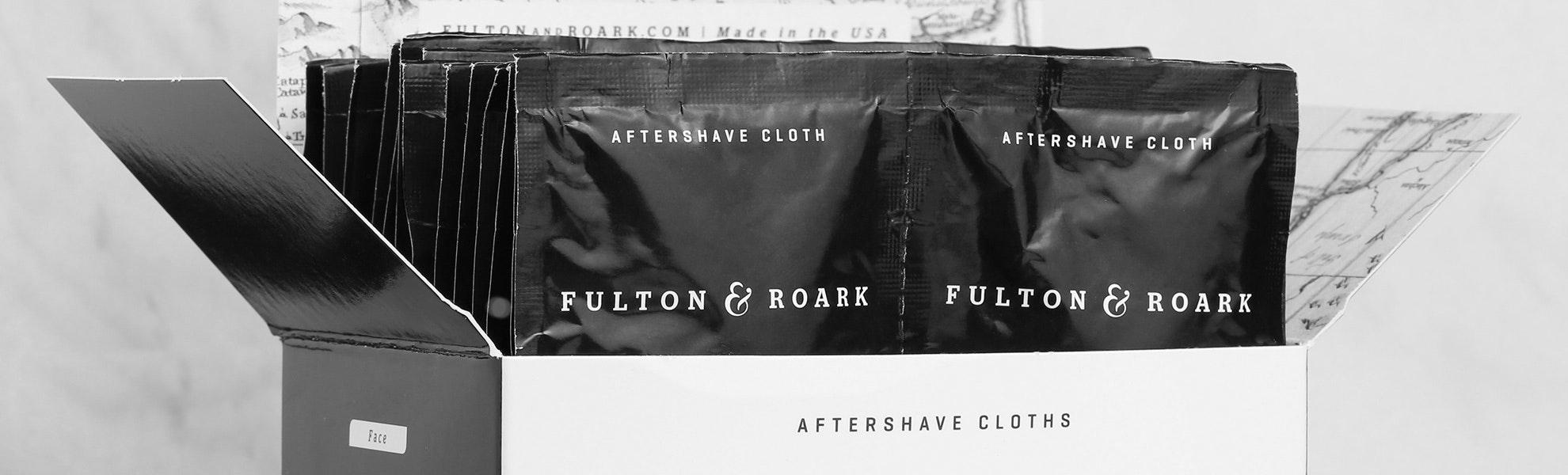Fulton & Roark Aftershave Cloths