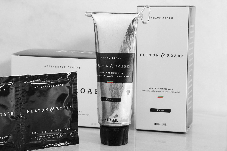 Fulton & Roark Shave Cream & Aftershave Cloths