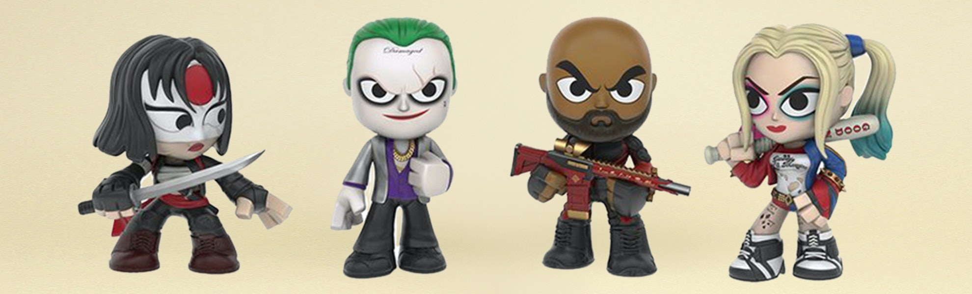 Funko Mystery Minis Suicide Squad