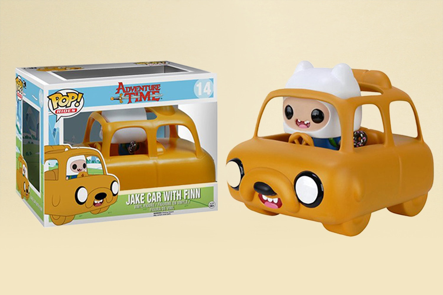 Jake Car with Finn
