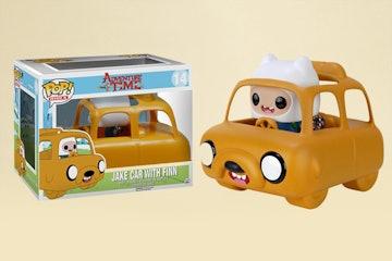 Jake Car with Finn