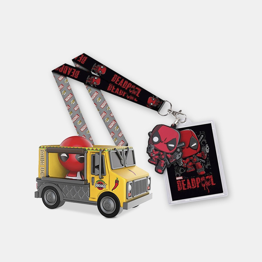 Dorbz Ridez! Deadpool Chimichanga Truck Bundle