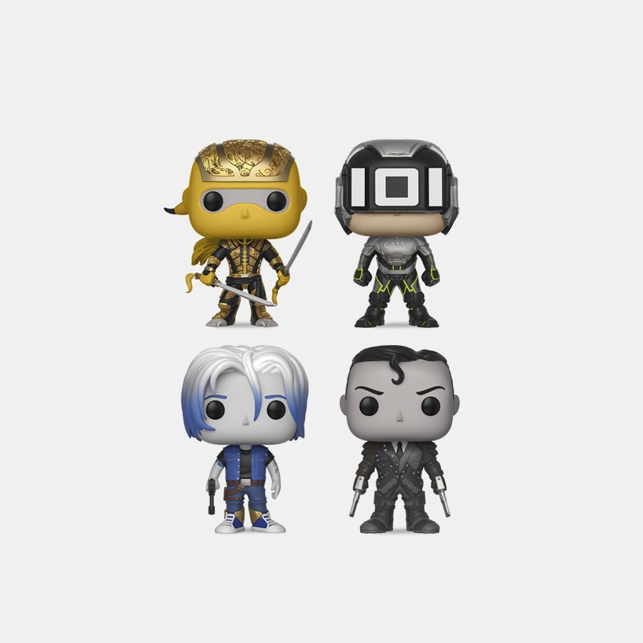 Funko POP! Movies: Ready Player One Bundle (4-Pack)