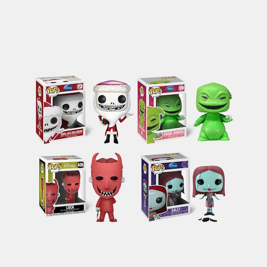 POP! Nightmare Before Christmas (4-Pack) Preorder