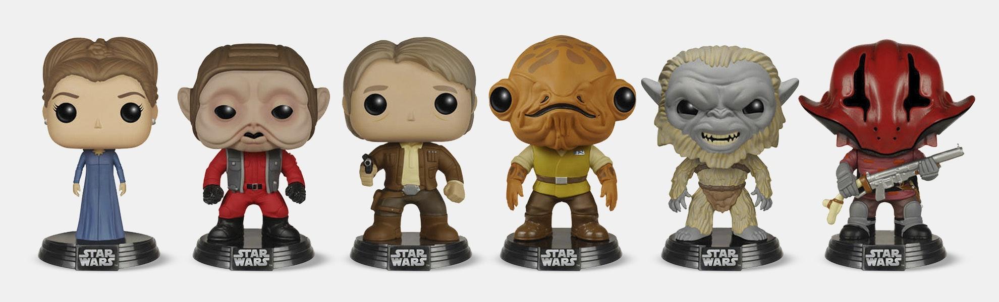 Funko POP! Star Wars Episode VII Set (6-pack)