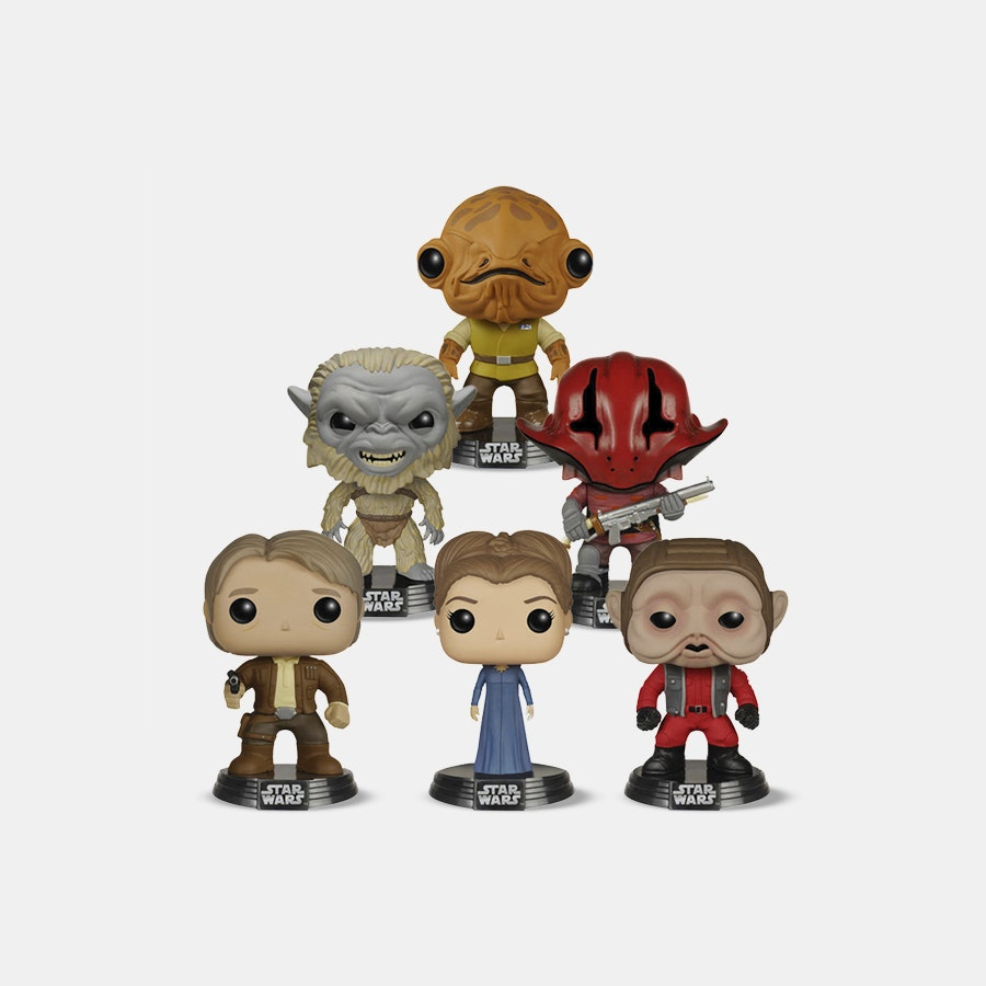 Funko POP! Star Wars Episode VII Set (6-pack)