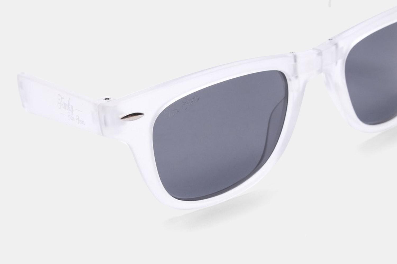 Oreo - Clear - Black Lens