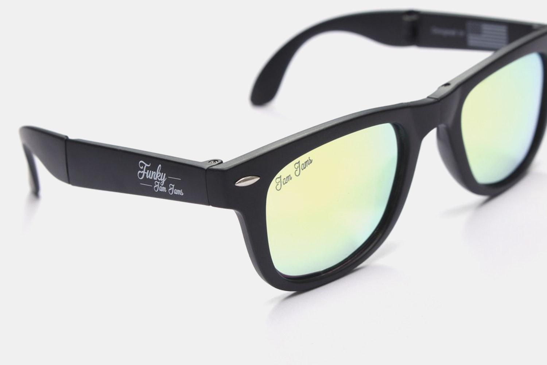 Funky Jam Foldable Polarized Sunglasses