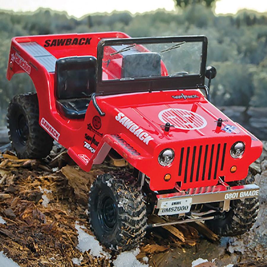 G-Made Sawback 1/10 Crawler ARTR Combo