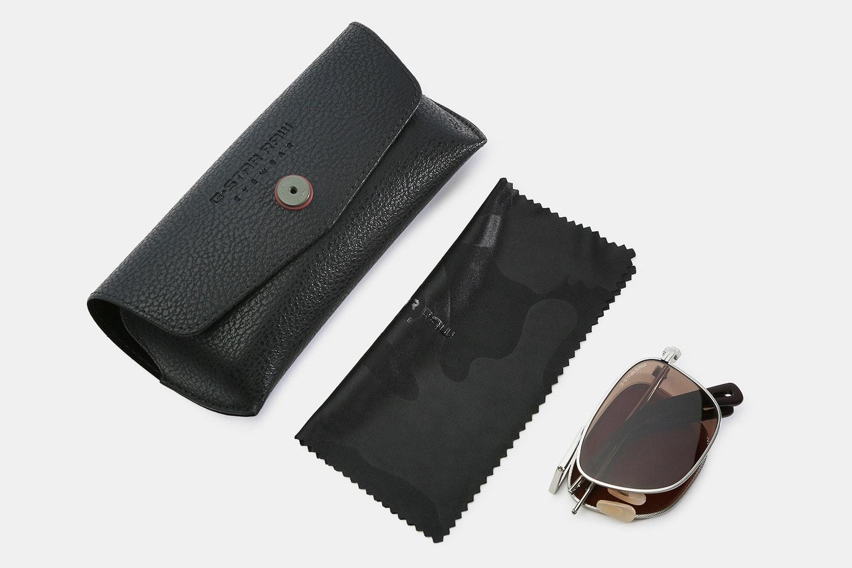G-Star Raw Folding Aviator Sunglasses