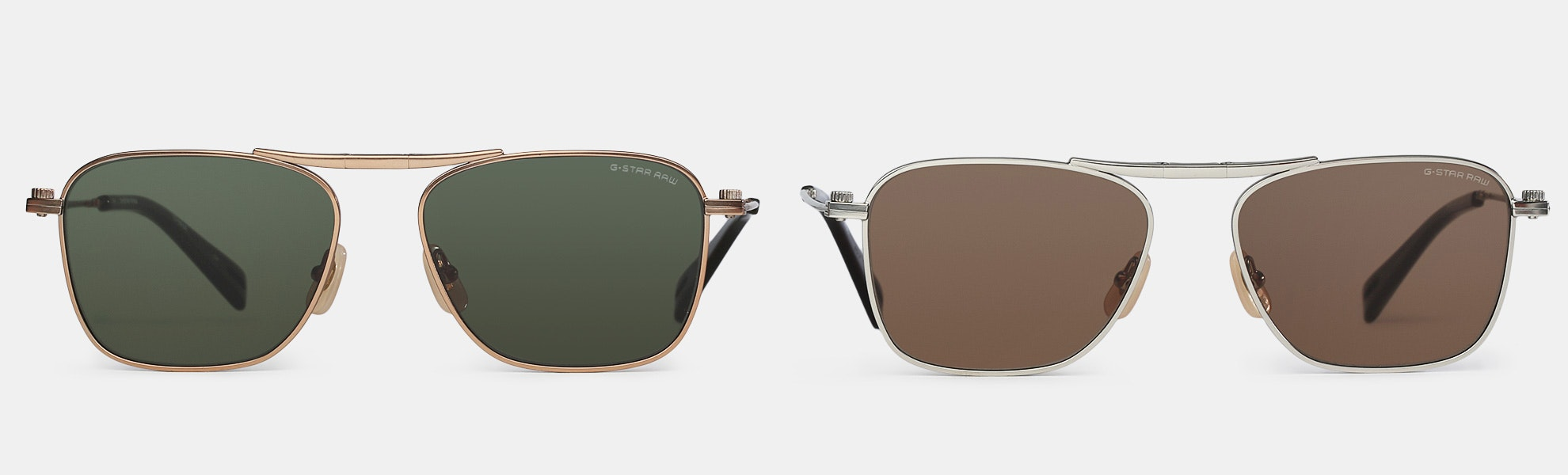 G-Star Raw Folding Aviator Sunglasses