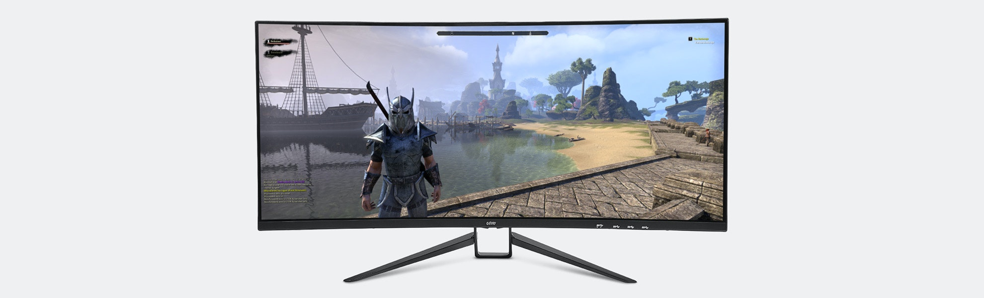 """G-Story 35"""" 120Hz 1440p Curved UWQHD Monitor"""